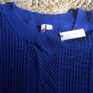 Anthropologie Sweaters - Anthropologie blue sweater